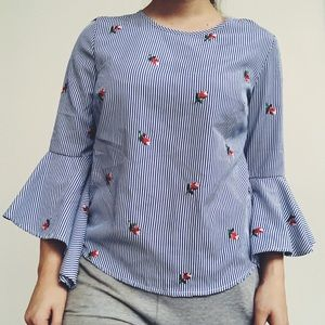 Tops - GORGEOUS Floral Embroidered Blouse